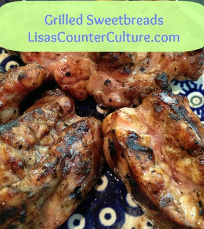 Grilled Sweetbreads (An Odd Bit)