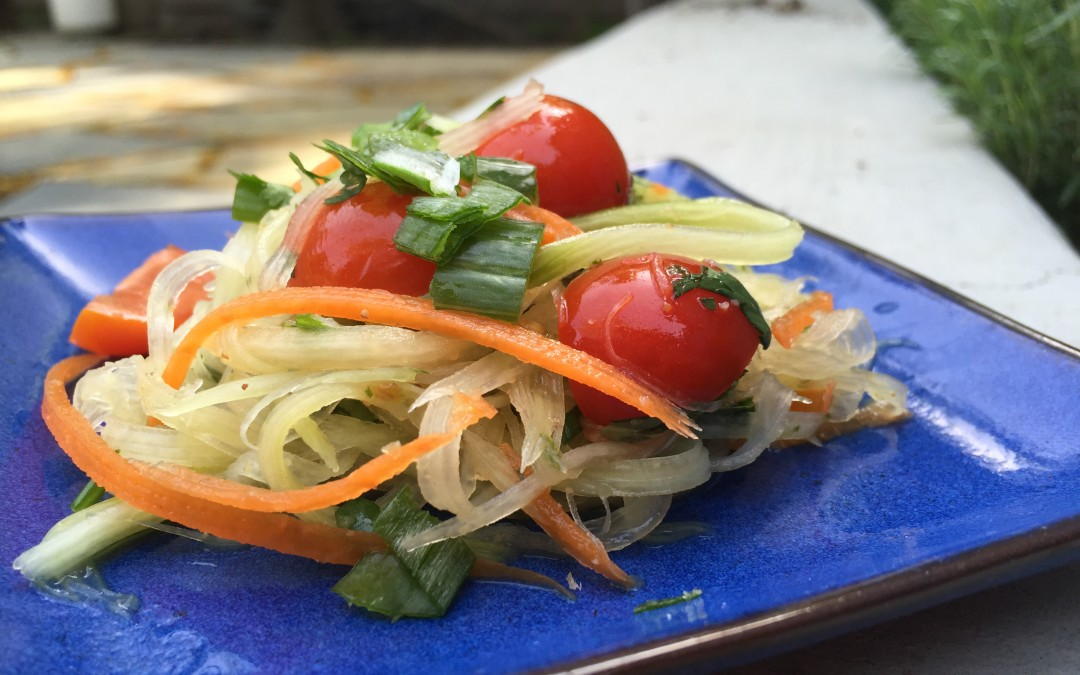 Cultured Green Papaya Salad